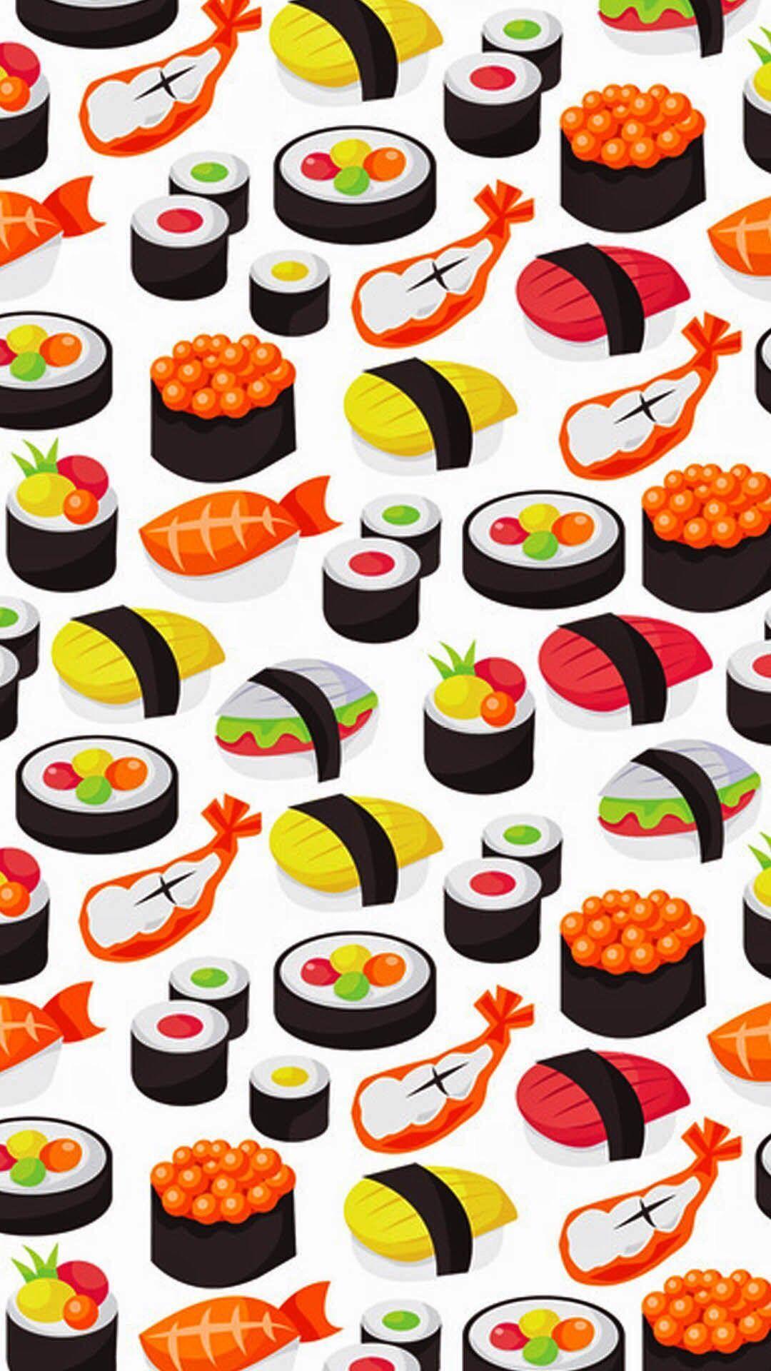 Sushi Cartoon Wallpapers Top Free Sushi Cartoon