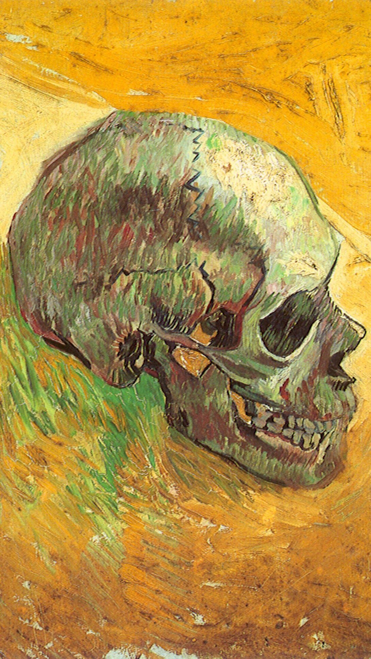 752x1334 Van Goghs Painting In IPhone