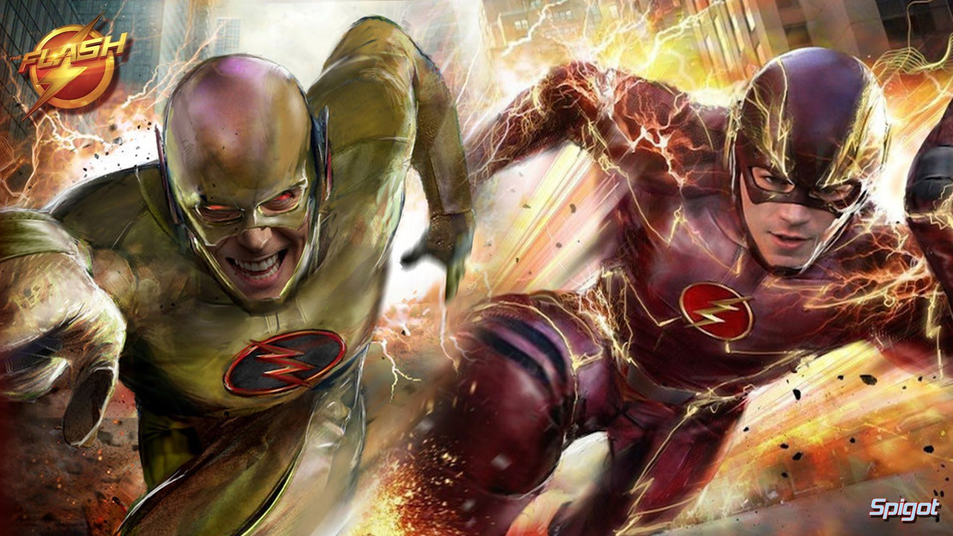 Flash Vs Reverse Flash Wallpapers Top Free Flash Vs Reverse