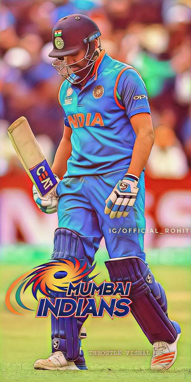 The Best Rohit Sharma Hd Wallpapers Mumbai Indians
