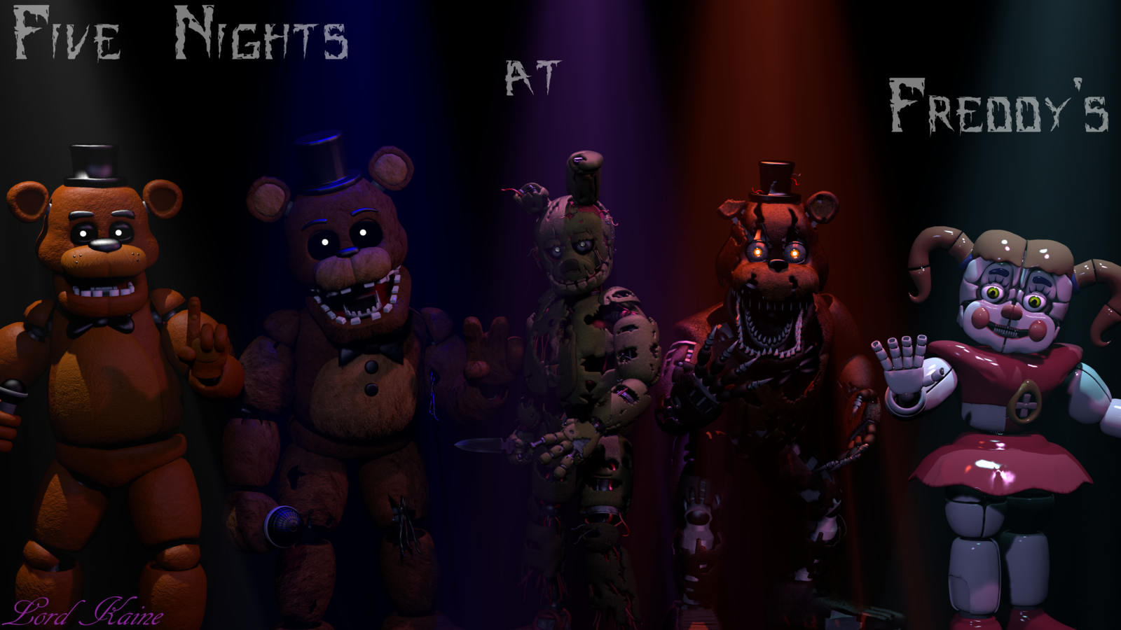 Five Nights At Freddy S Sister Location Wallpapers Top Free