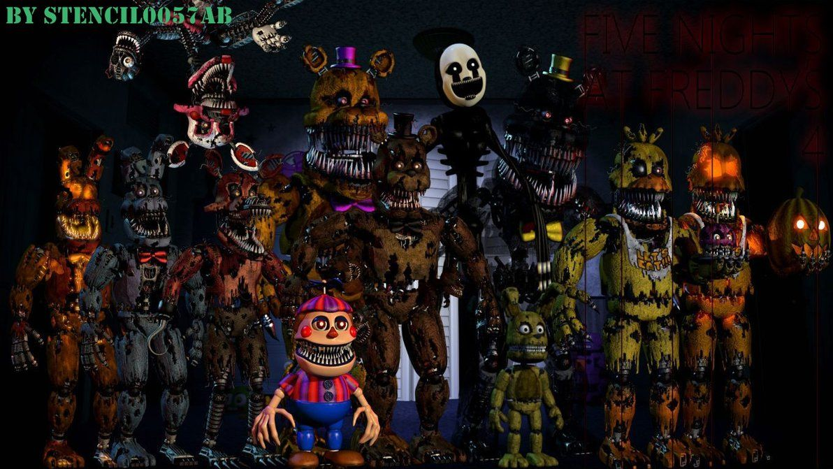 Five Nights At Freddy S Desktop Wallpapers Top Free Five Nights