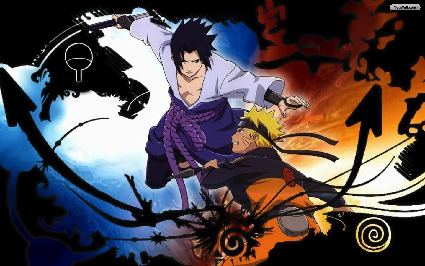 Naruto Vs Sasuke Wallpapers Top Free Naruto Vs Sasuke Backgrounds Wallpaperaccess