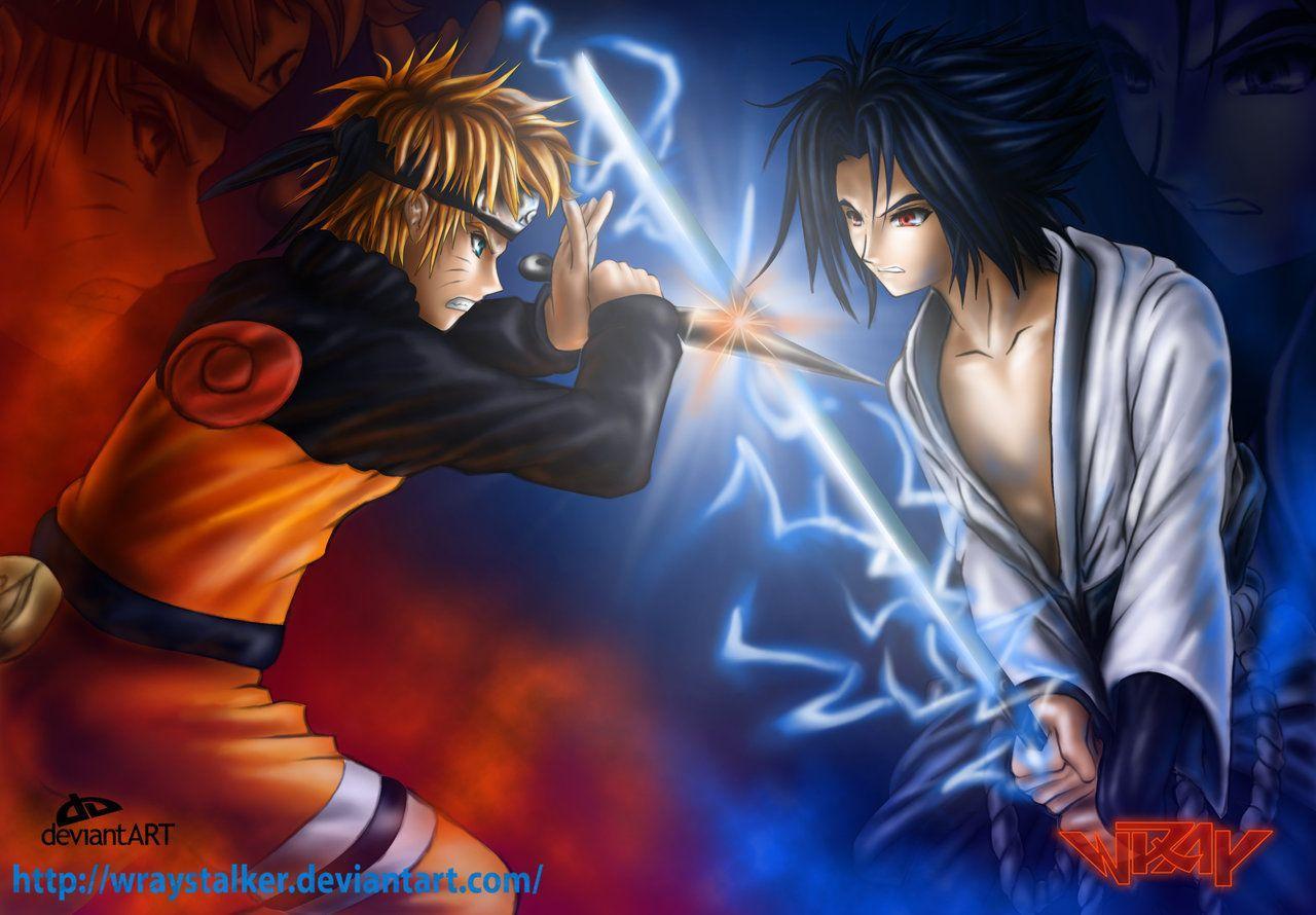 Naruto Vs Sasuke Wallpapers Top Free Naruto Vs Sasuke