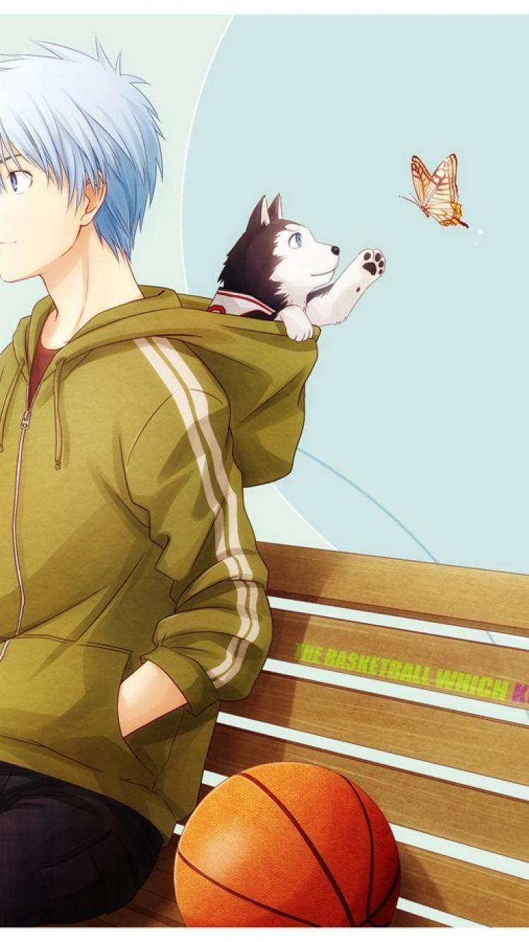 750x1334 Anime Kuroko No Basket Tetsuya Wallpaper