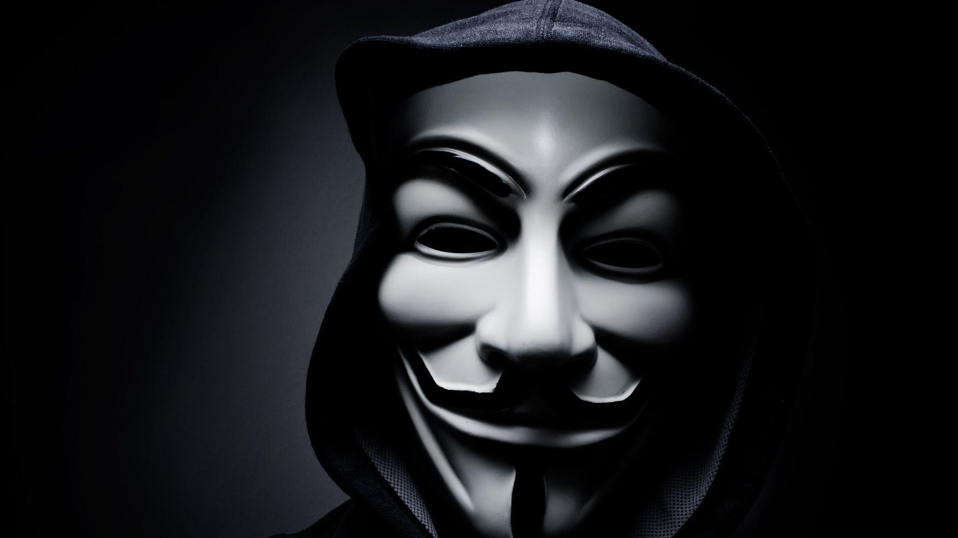 Hacker Mask Wallpapers Top Free Hacker Mask Backgrounds Wallpaperaccess