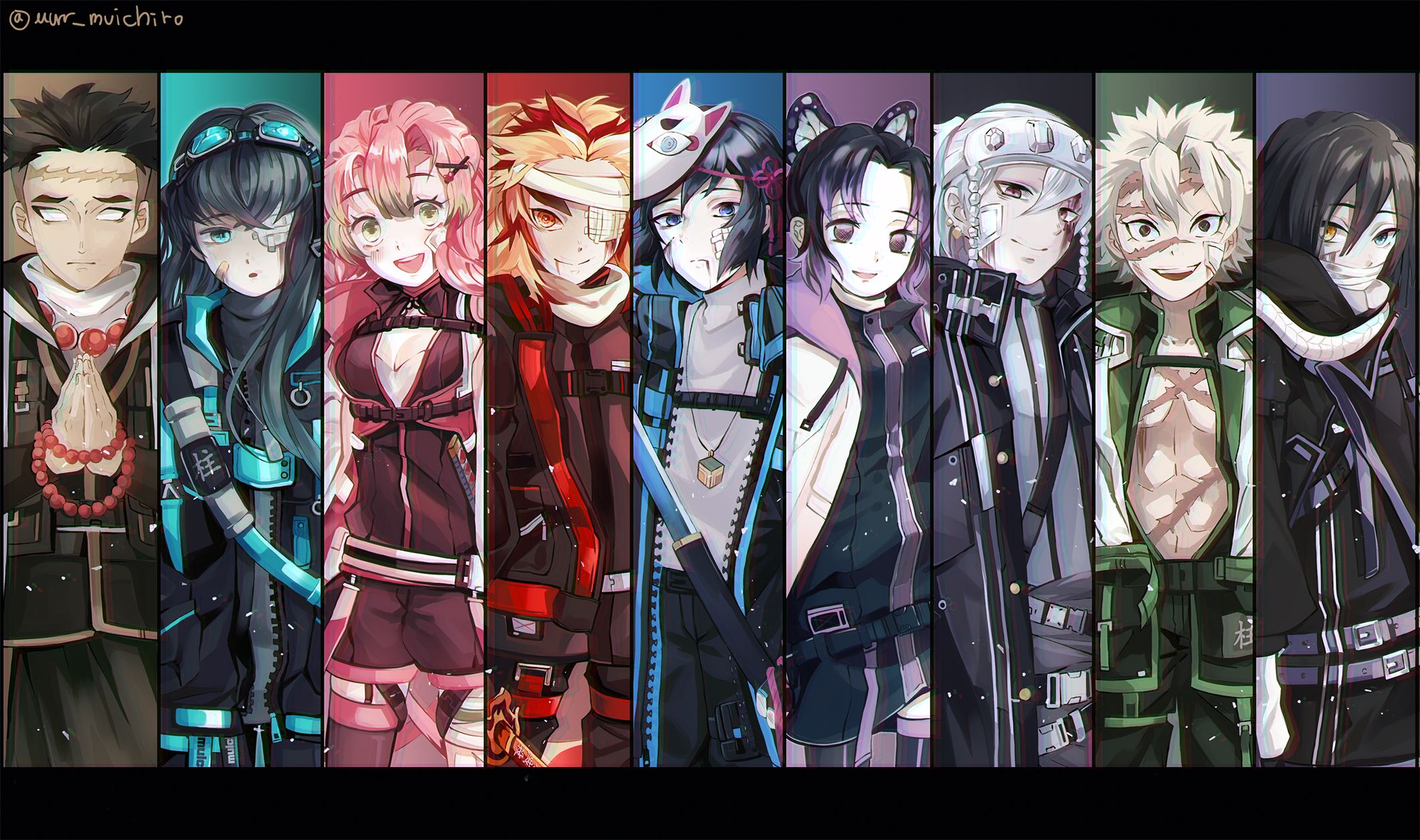 Kimetsu No Yaiba Hashira Wallpapers Top Free Kimetsu No Yaiba Hashira Backgrounds Wallpaperaccess Explore the 5 mobile wallpapers associated with the tag tengen uzui and download freely everything you like! kimetsu no yaiba hashira wallpapers