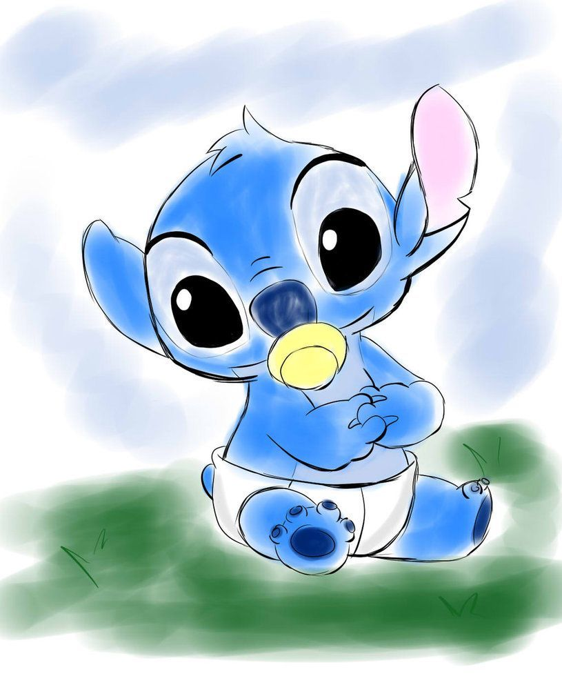 Cute Baby Stitch Wallpapers Top Free Cute Baby Stitch Backgrounds Wallpaperaccess