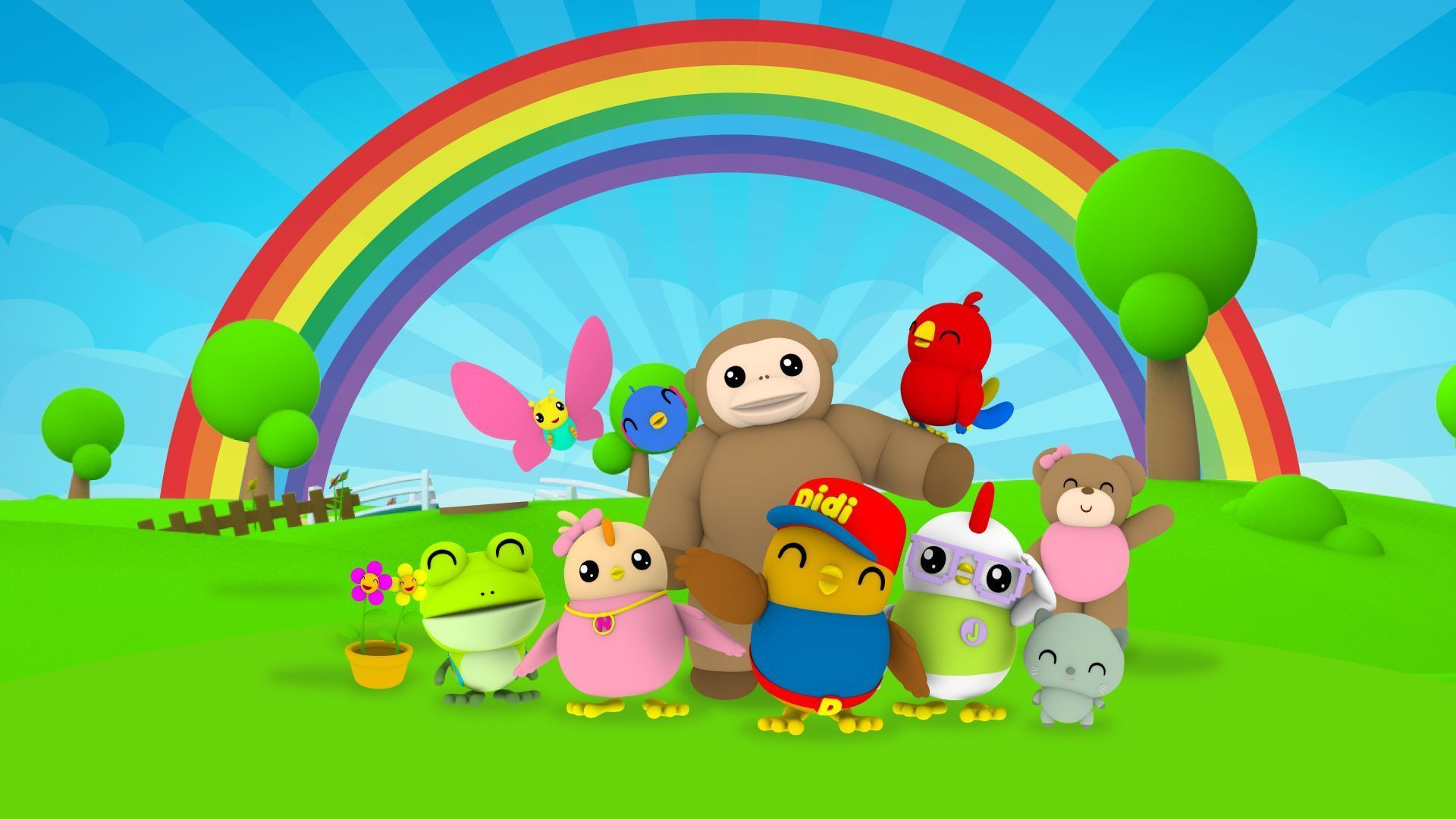 Didi And Friends Wallpapers Top Free Didi And Friends Backgrounds Wallpaperaccess