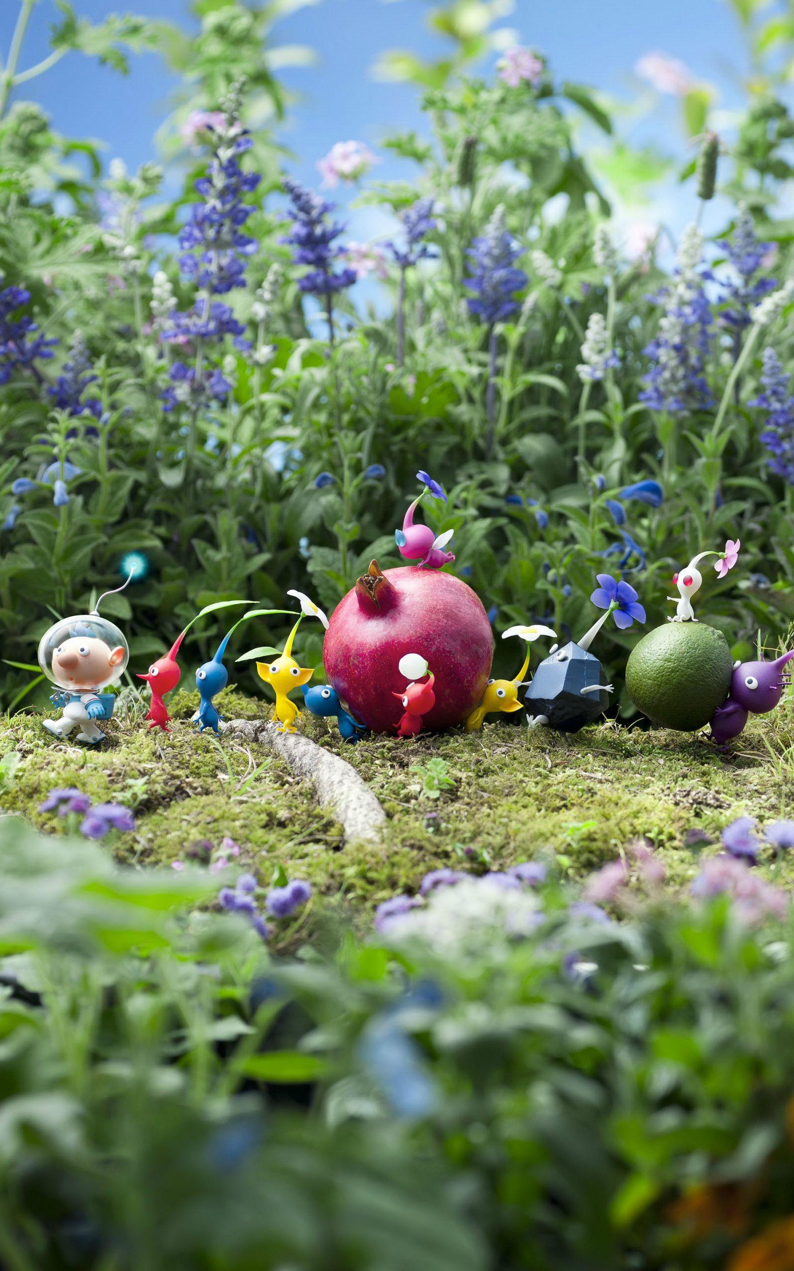 Pikmin Wallpapers Top Free Pikmin Backgrounds Wallpaperaccess