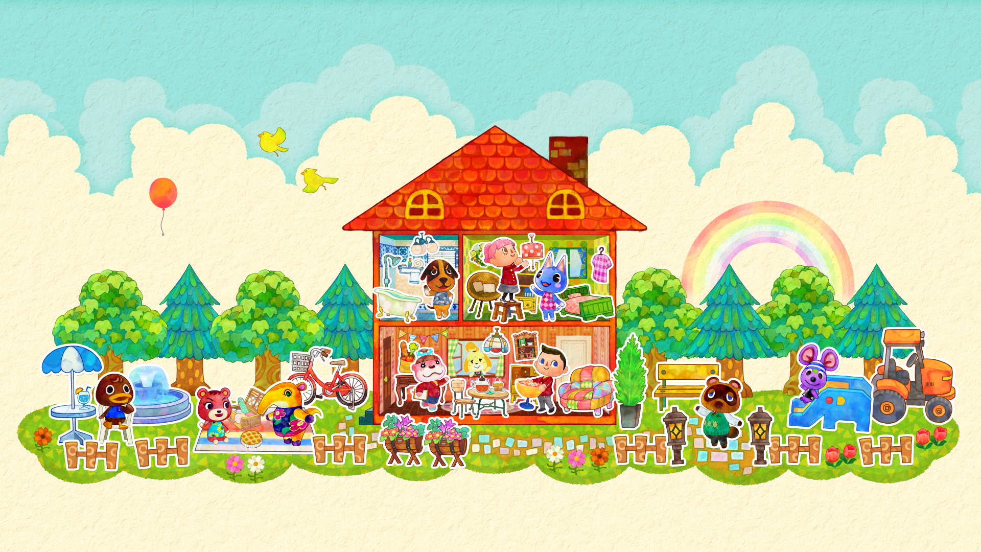 Animal Crossing Desktop Wallpapers Top Free Animal Crossing