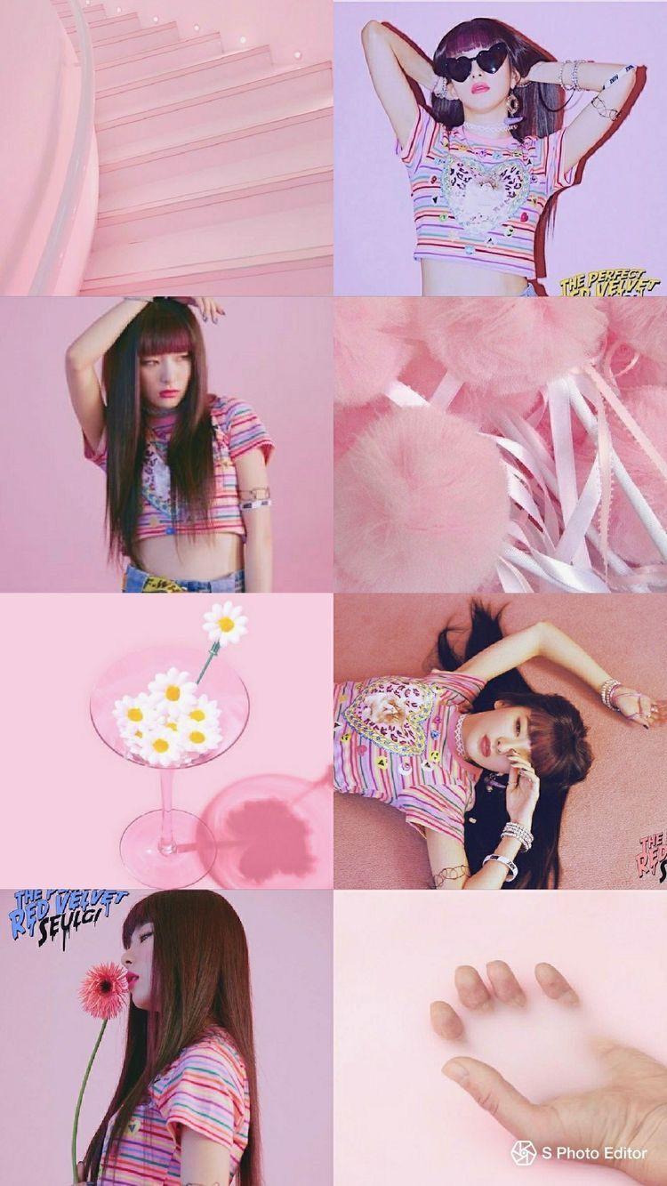 Red Velvet Aesthetic Wallpapers Top Free Red Velvet Aesthetic