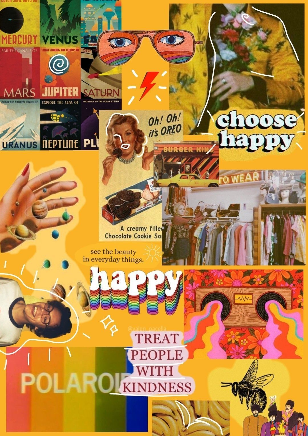 Aesthetic 90 S Retro Collage Wallpapers Top Free Aesthetic 90 S
