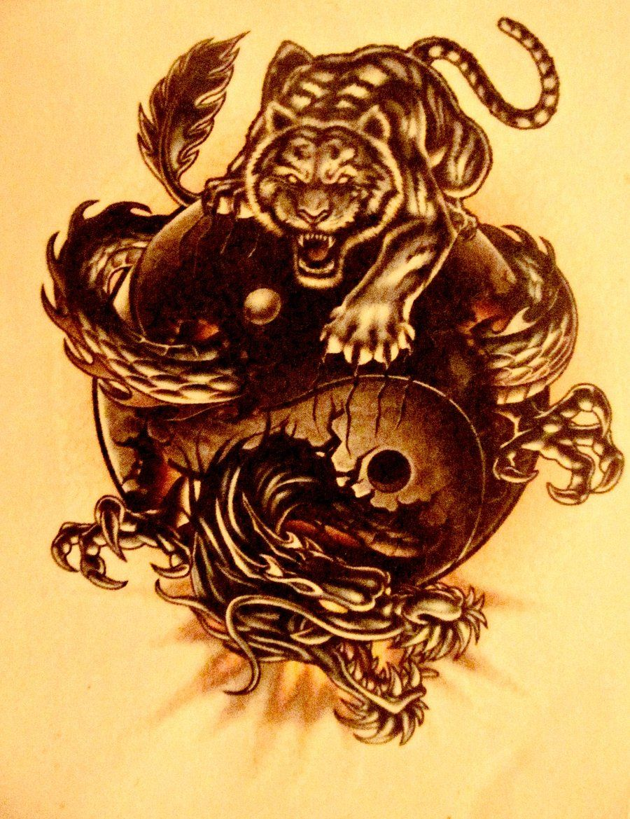 Chinese Dragon And Tiger Wallpapers Top Free Chinese Dragon And