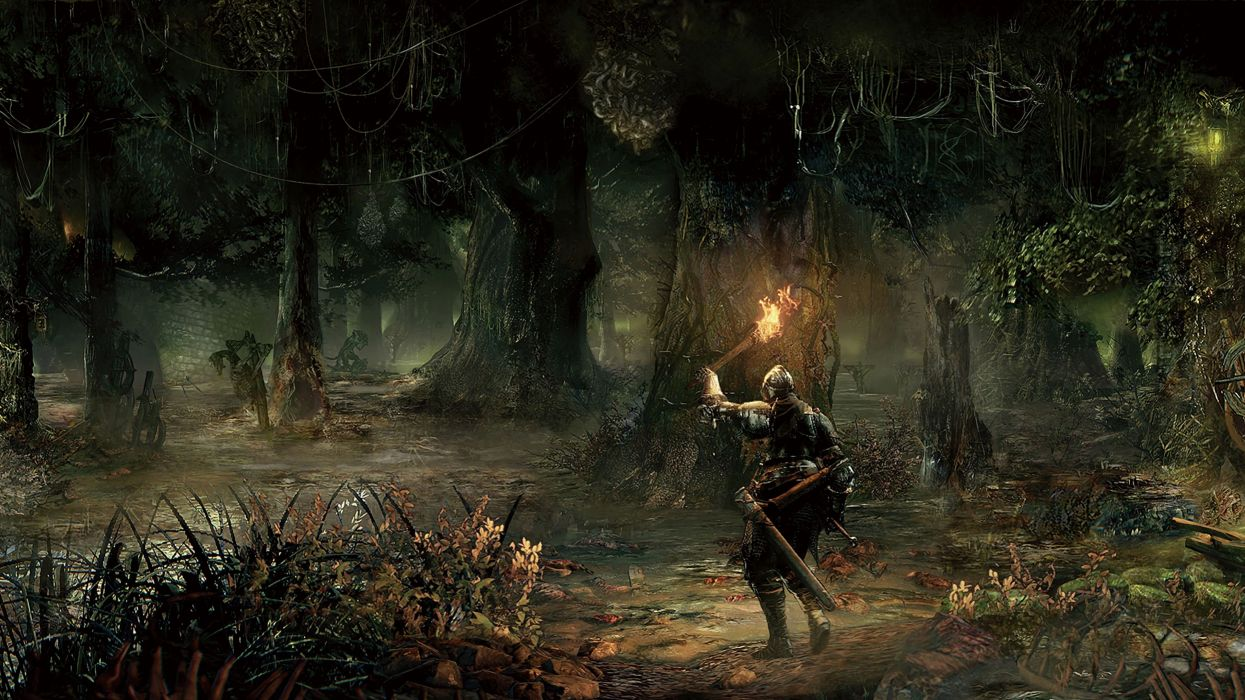 1245x700 Art artwork fantasy artistic original dark souls wallpaper .