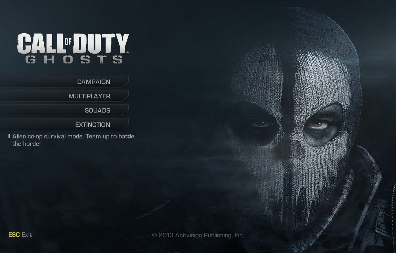 Ghost Call Of Duty Wallpapers Top Free Ghost Call Of Duty Backgrounds Wallpaperaccess