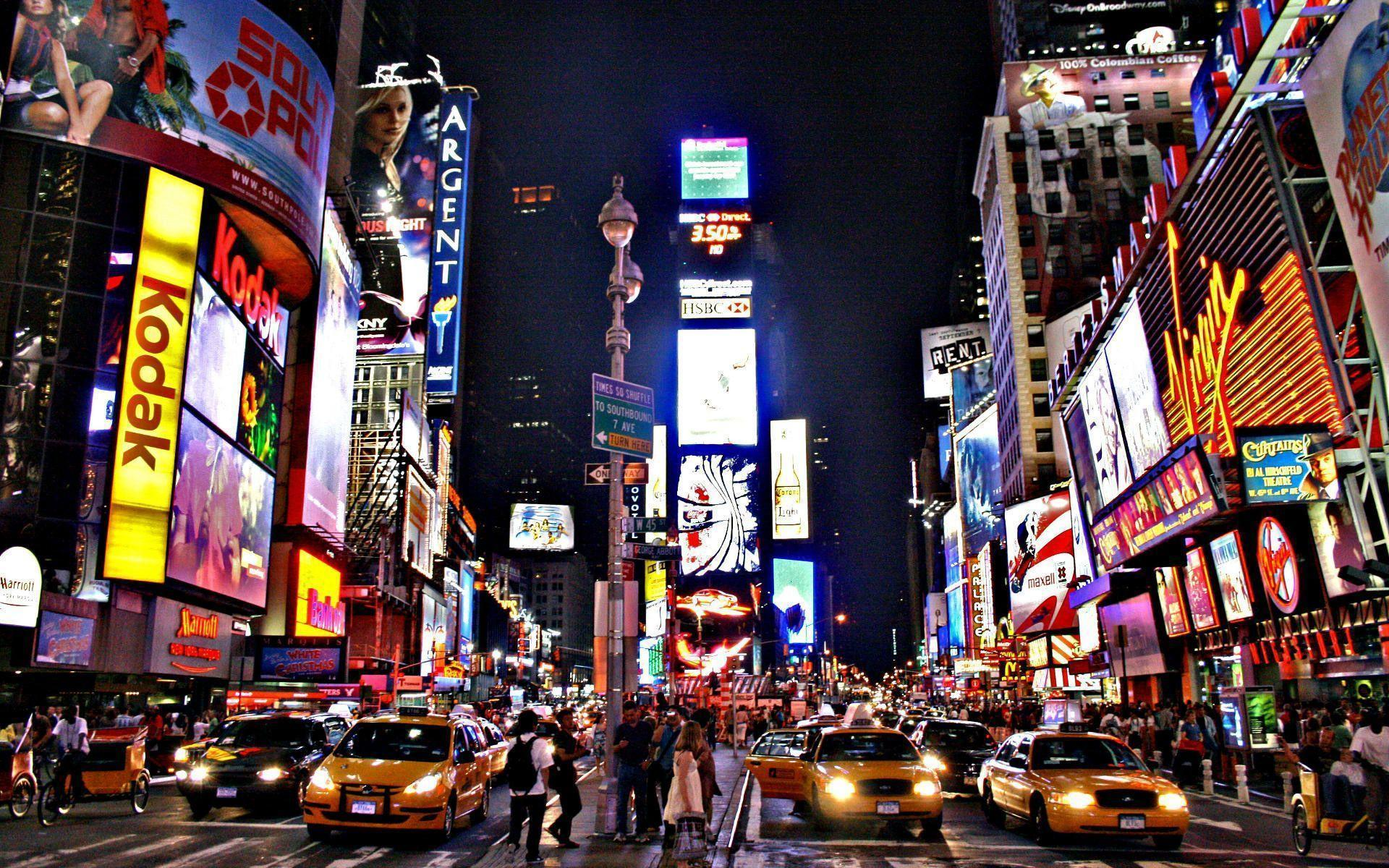 Times Square New York City Wallpapers Top Free Times