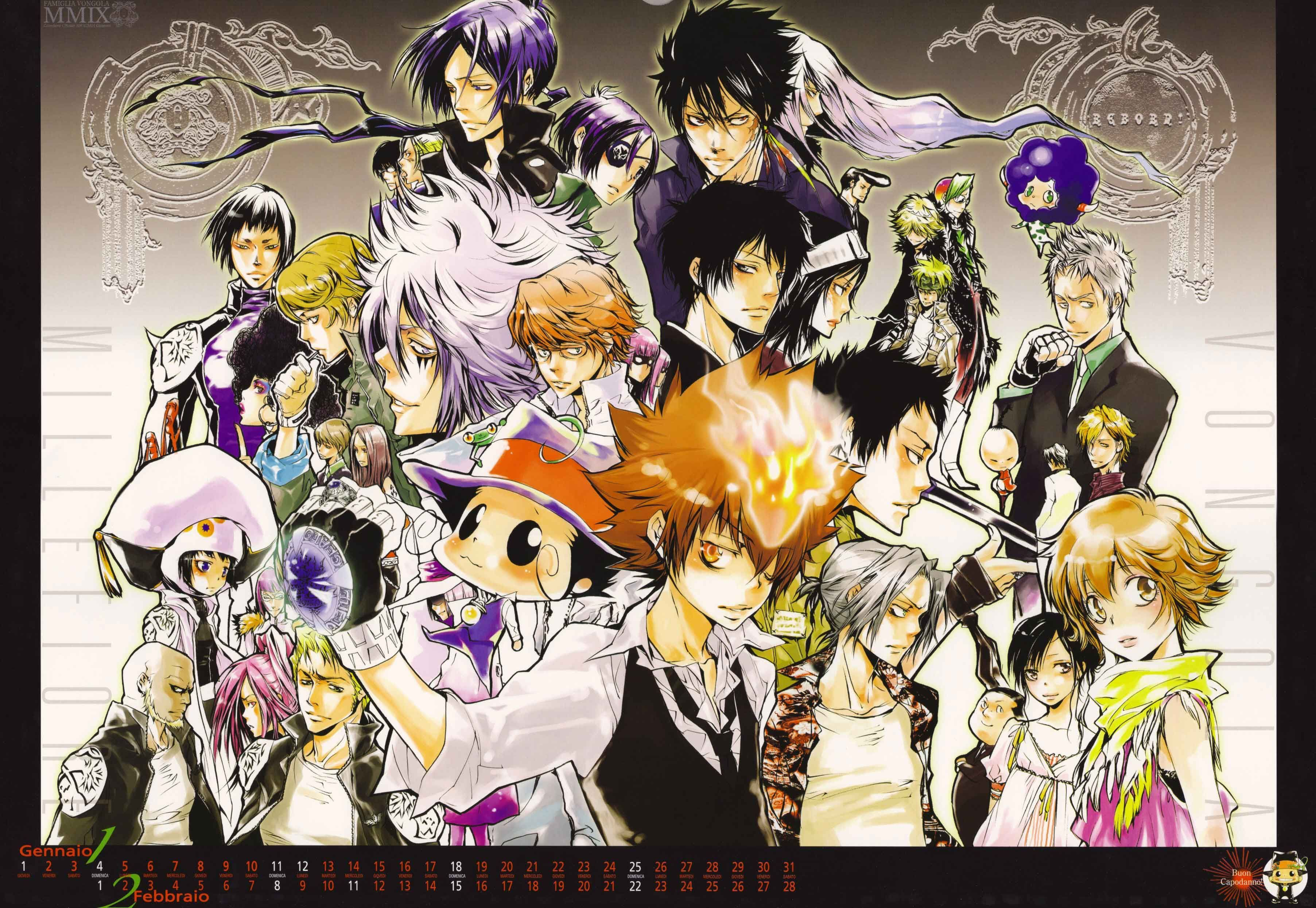 katekyo hitman reborn wallpaper phone