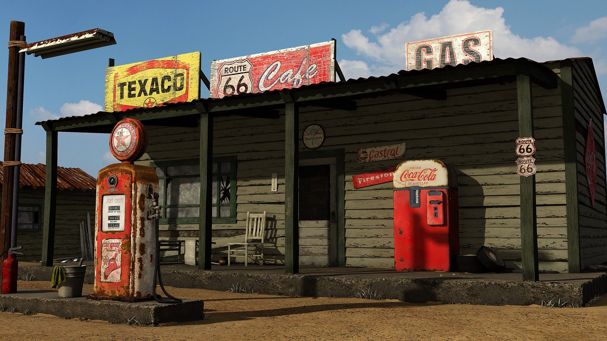 Vintage Gas Station Wallpapers Top Free Vintage Gas Station Backgrounds Wallpaperaccess