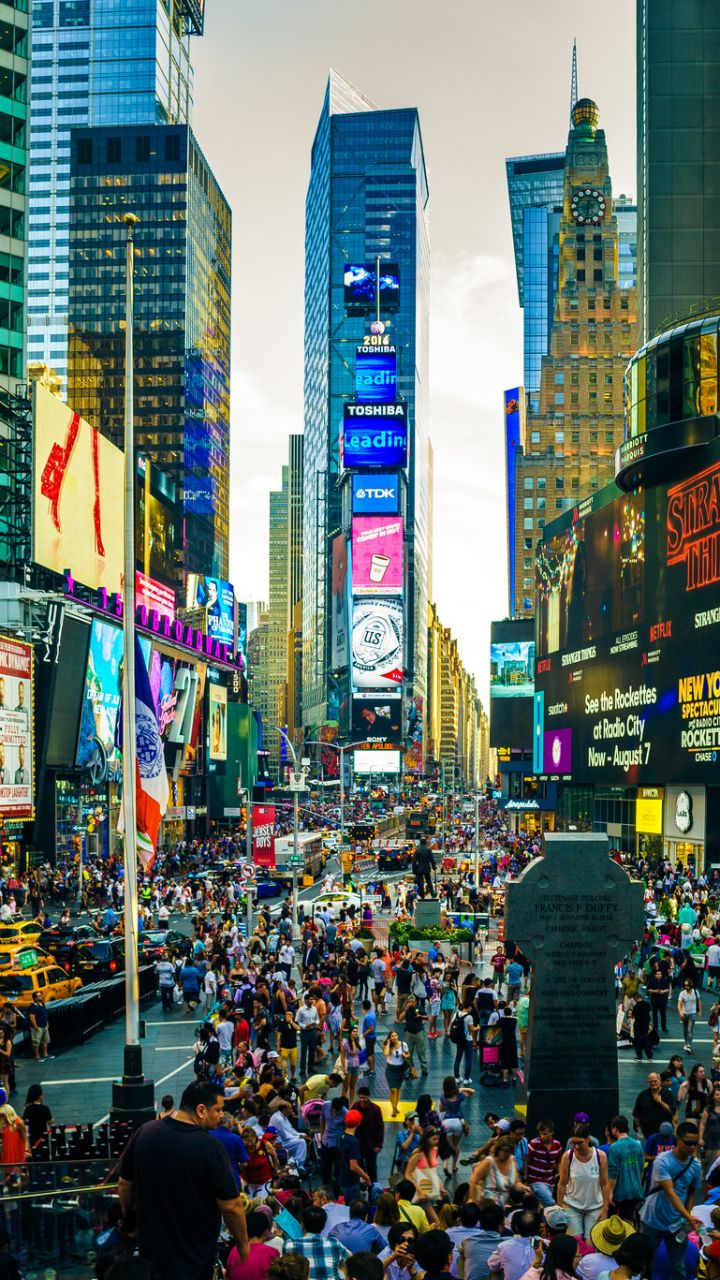 Times Square Wallpapers Top Free Times Square Backgrounds