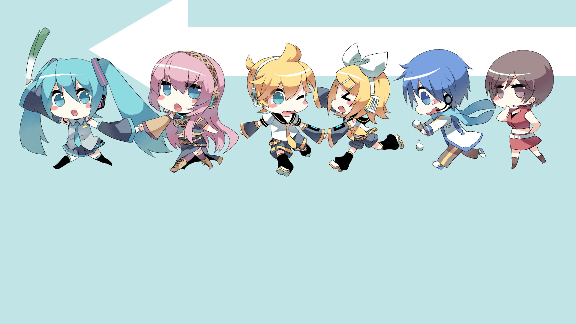 Vocaloid Chibi Wallpapers Top Free Vocaloid Chibi Backgrounds