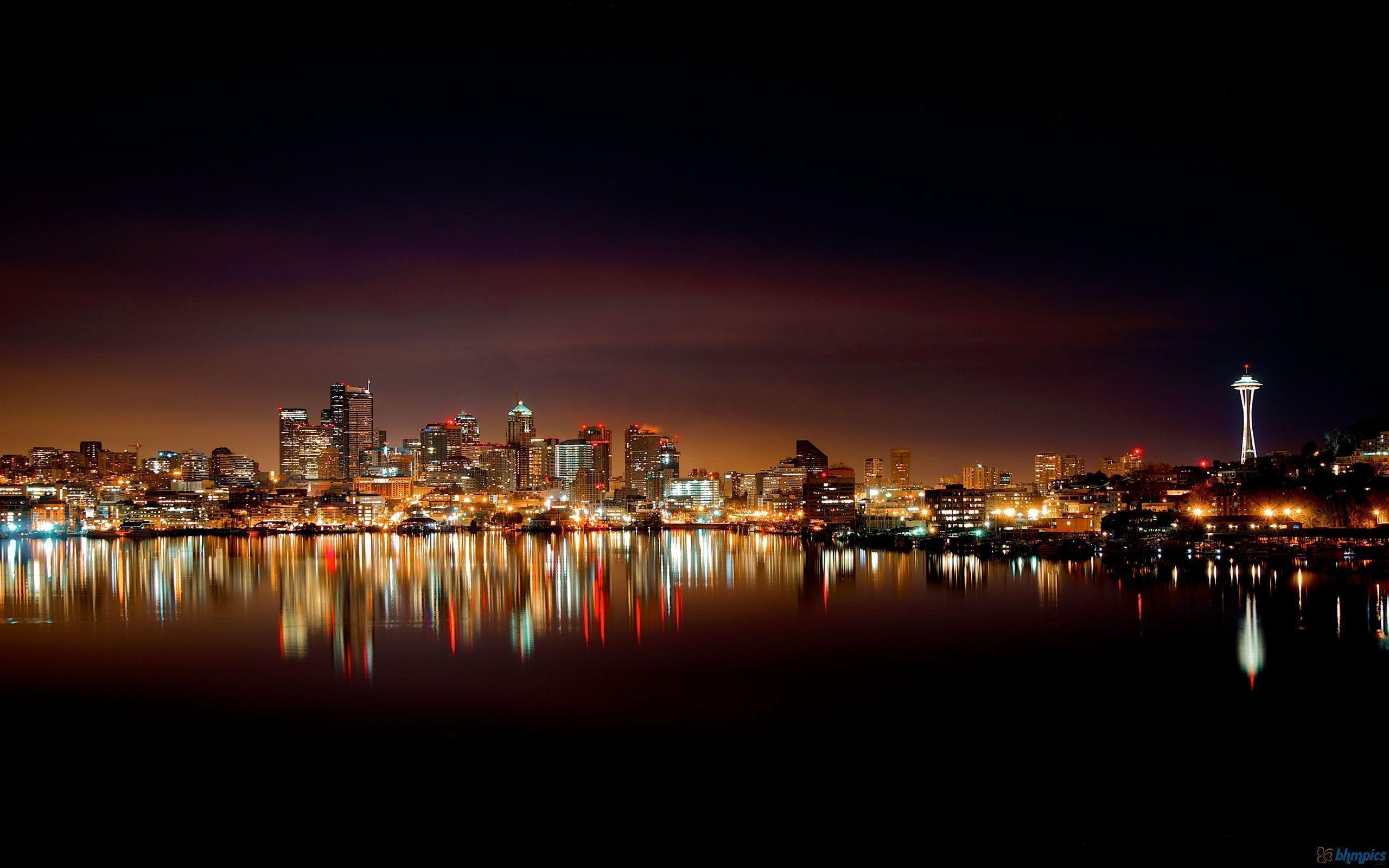 Seattle Skyline Wallpapers Top Free Seattle Skyline Backgrounds Wallpaperaccess