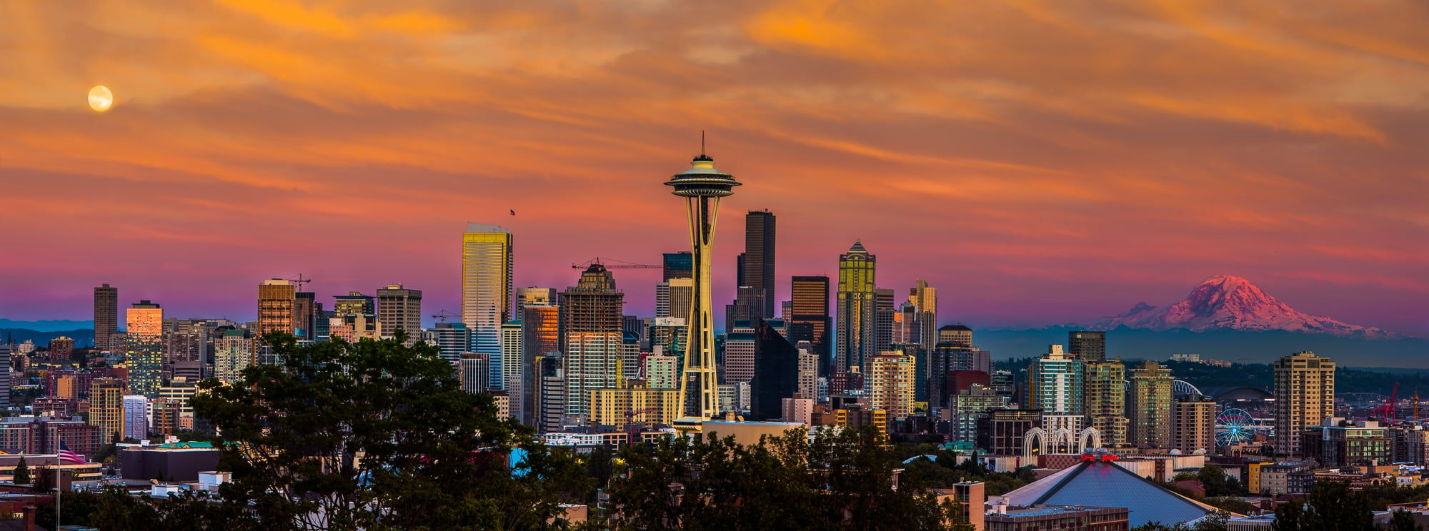 Seattle Skyline Wallpapers Top Free Seattle Skyline