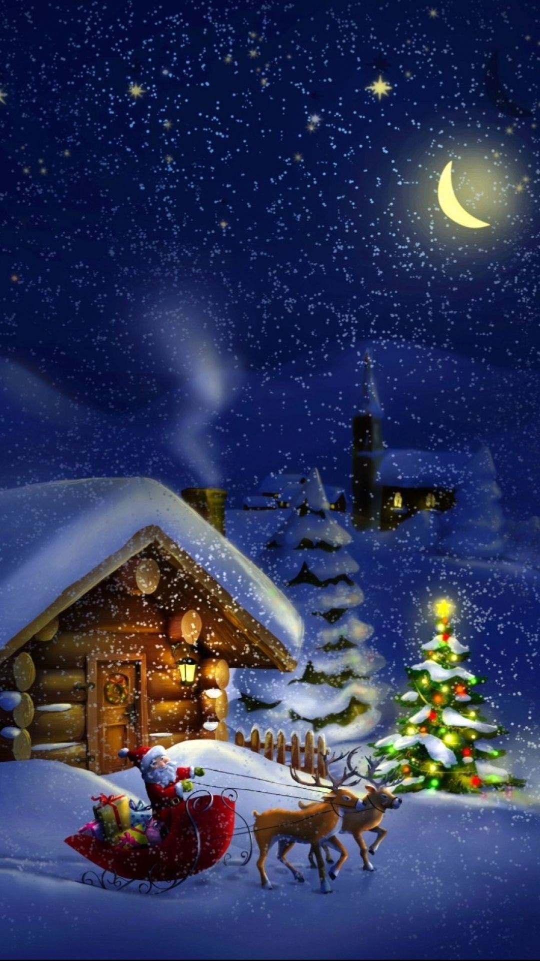 Christmas iPhone Wallpapers - Top Free