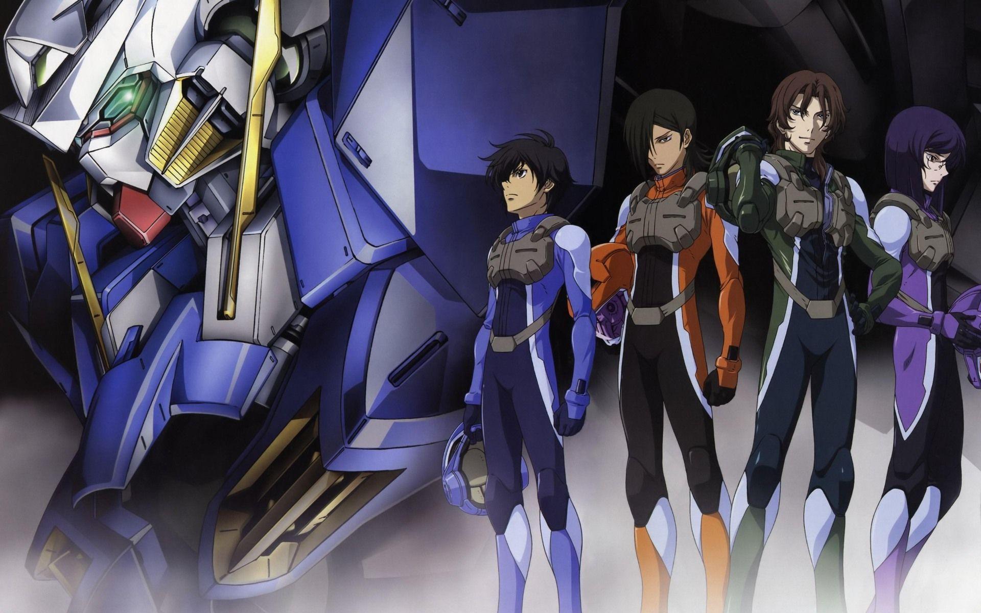 Mobile Suit Gundam 00 Wallpapers - Top Free Mobile Suit Gundam 00  Backgrounds - WallpaperAccess