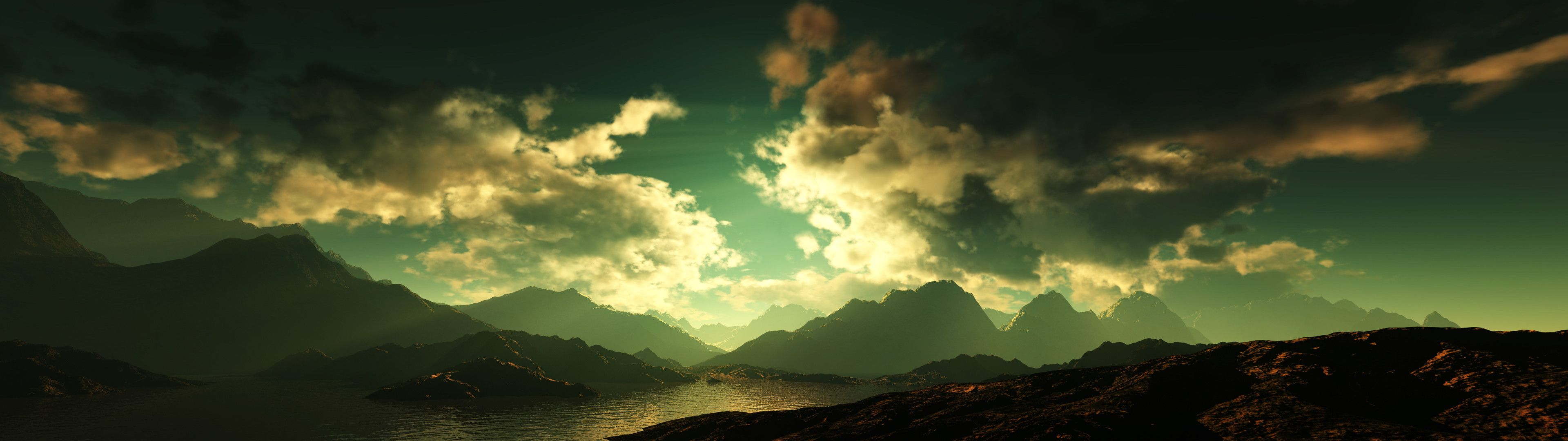 "3840x1080 Mountains Dual Monitor wallpapers""> · Download · 3360x1050 ..."