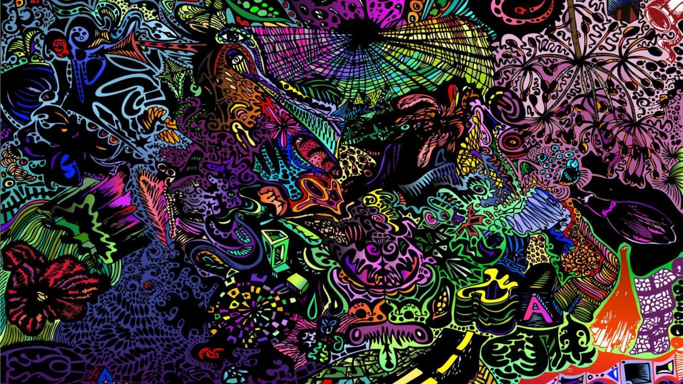 """1920x1200 Colorful Mind Tunnel 