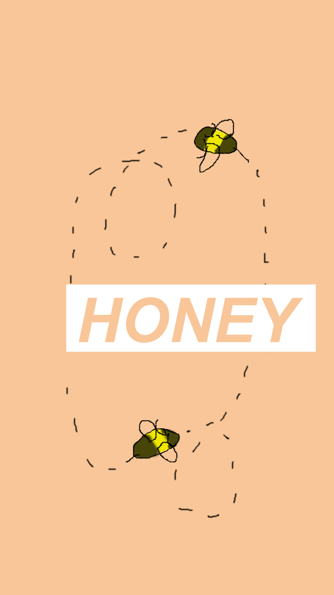 aesthetic bee wallpapers