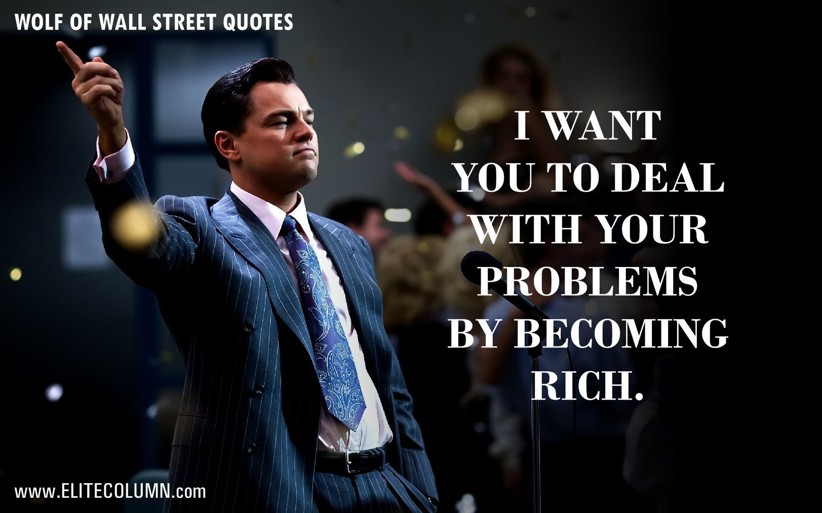 Wolf Of Wall Street Quotes Wallpapers Top Free Wolf Of Wall Street Quotes Backgrounds Wallpaperaccess