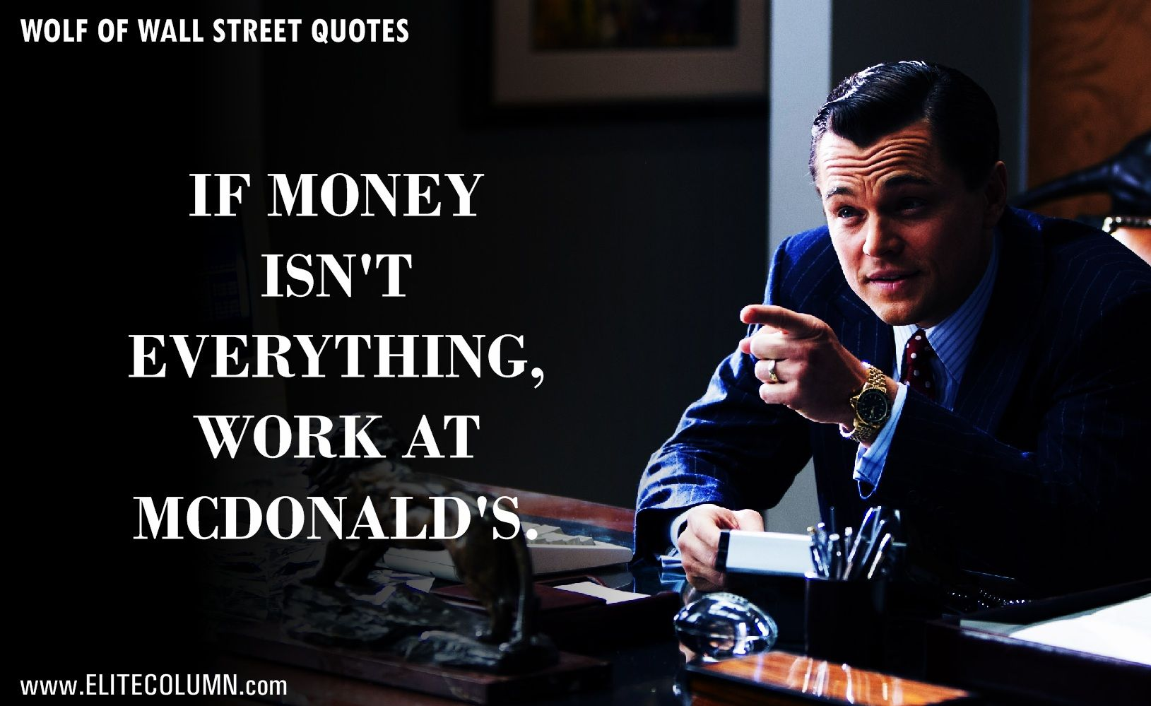 Wolf Of Wall Street Quotes Wallpapers Top Free Wolf Of Wall