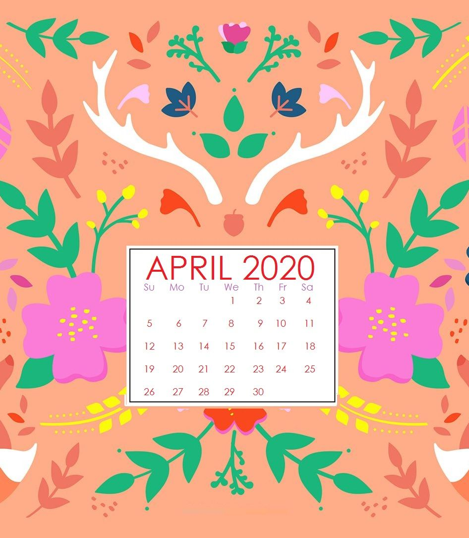 April 2020 Calendar Wallpapers Top Free April 2020 Calendar