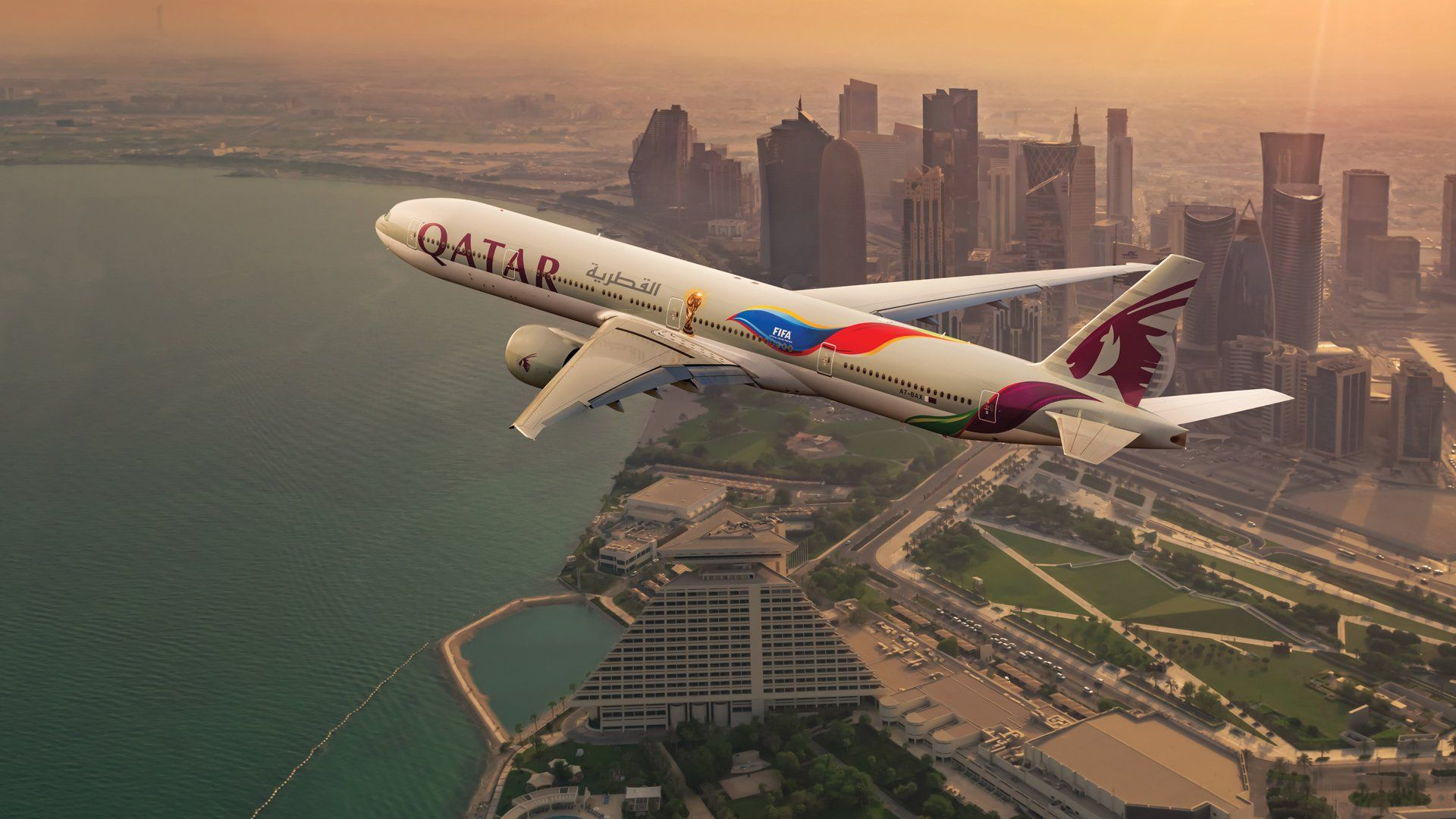 Qatar Airways Wallpapers Top Free Qatar Airways Backgrounds Wallpaperaccess
