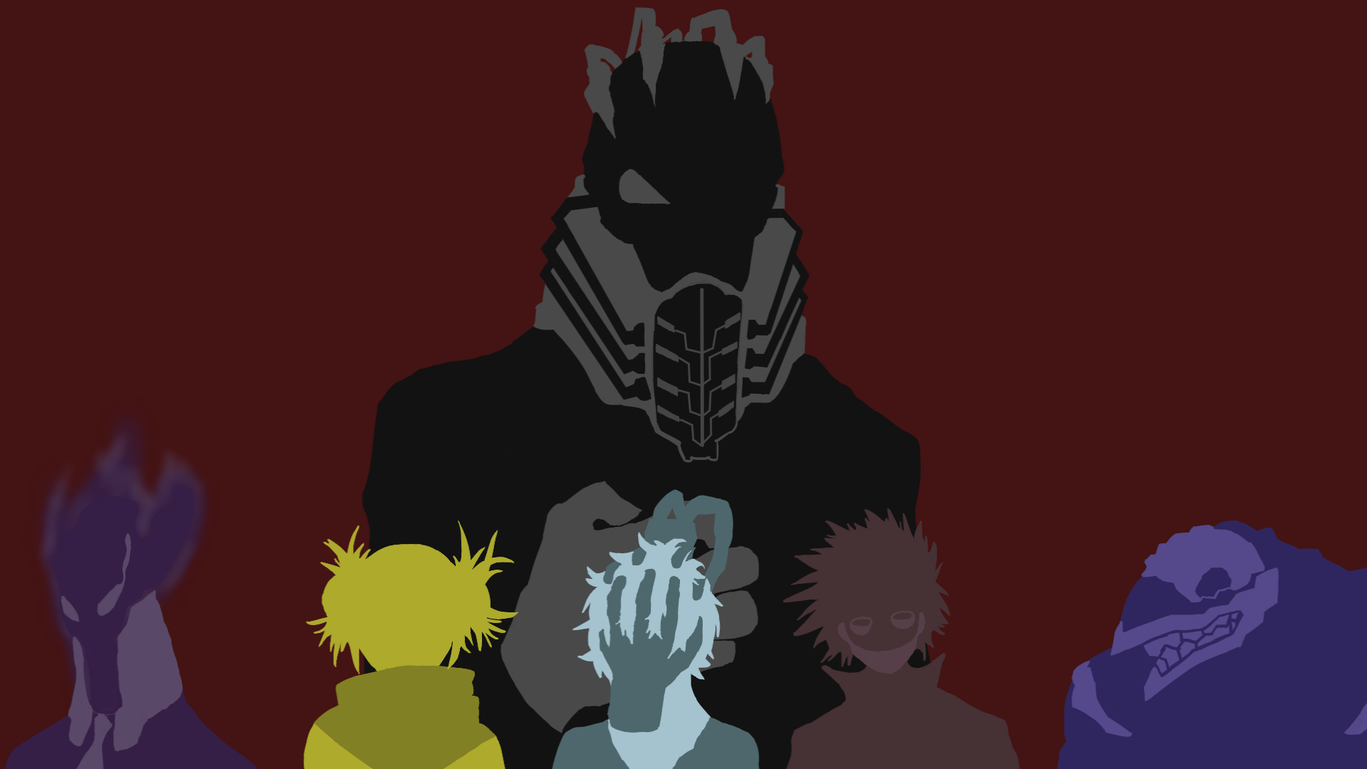 My Hero Academia Villains Wallpapers Top Free My Hero Academia