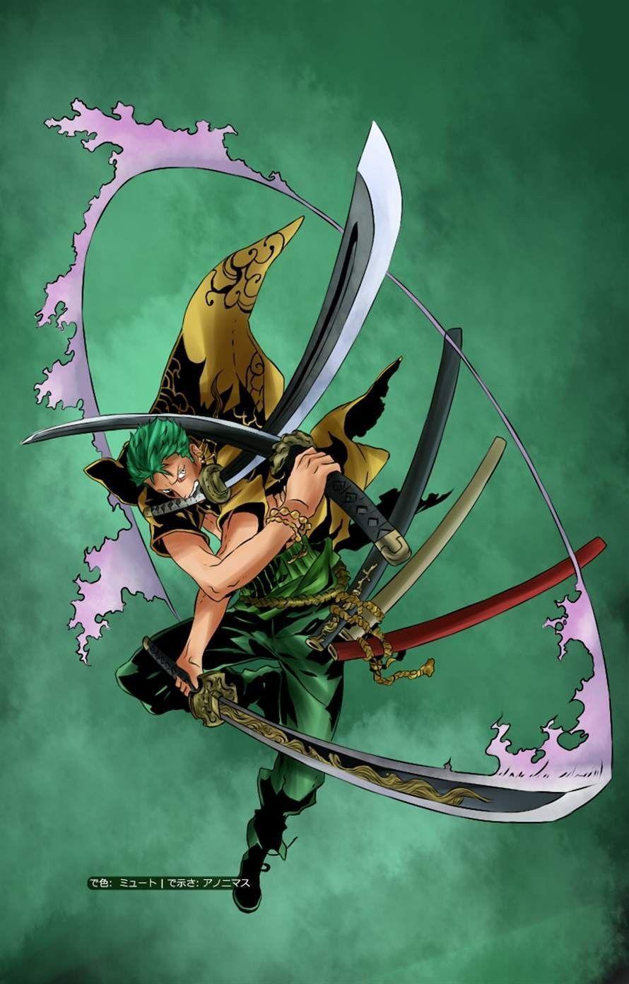 Anime Wallpaper One Piece Zoro