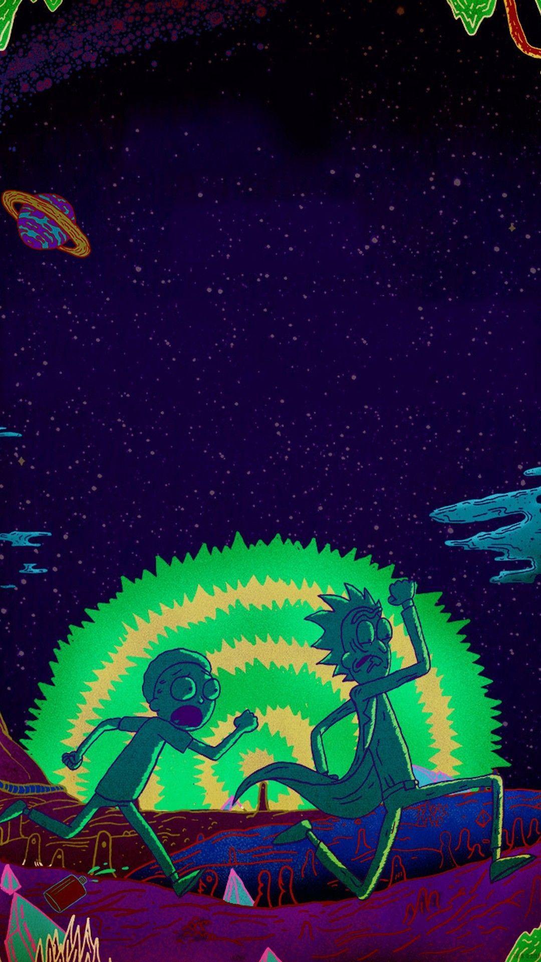 1080x1920 Rick and Morty i Phones hình nền.  Hình nền điện thoại 2020 HD