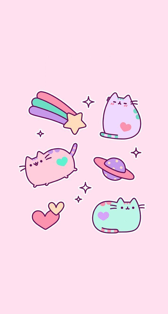 Pink Kawaii Pastel Wallpapers Top Free Pink Kawaii Pastel Backgrounds Wallpaperaccess