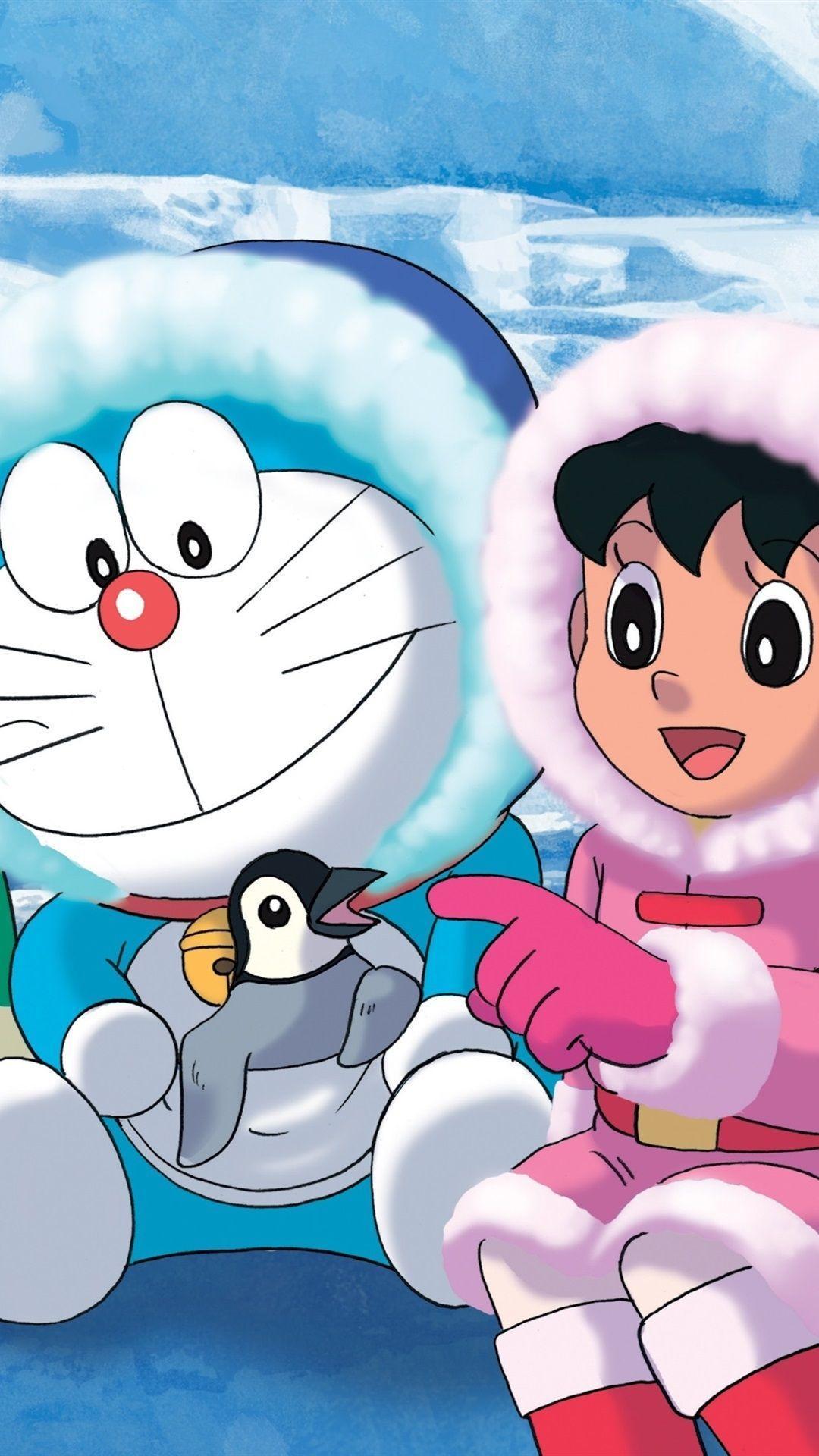 Hình nền HD 1080x1920 Doraemon dành cho Android Hình nền HD
