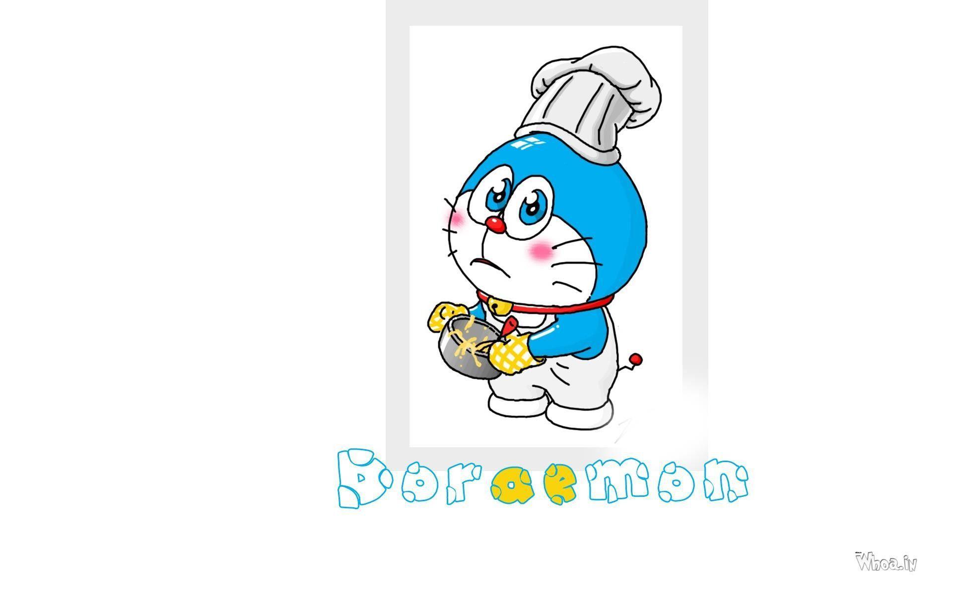 Hình nền 3D Doraemon 1920x1200 2018