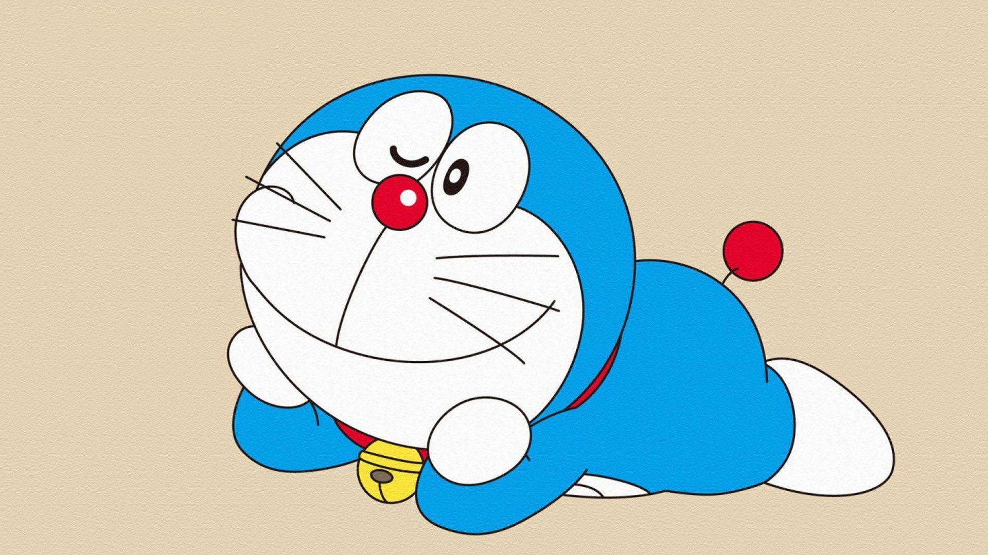 1920x1080 Hình nền máy tính để bàn HD Doraemon dễ thương