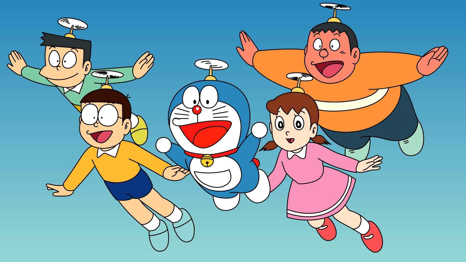 1920x1080 Hình nền Doraemon, Hình nền hoạt hình HD Doraemon