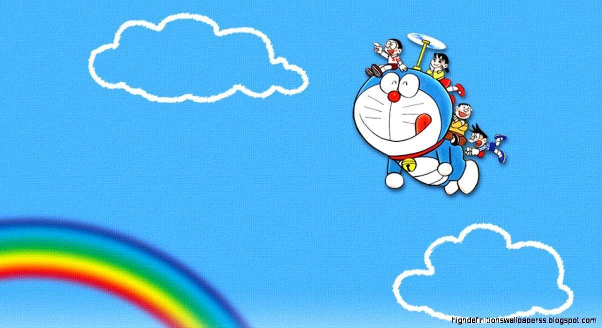 Hình nền máy tính Doraemon dễ thương 1203x655 HD.  Hình nền độ phân giải cao