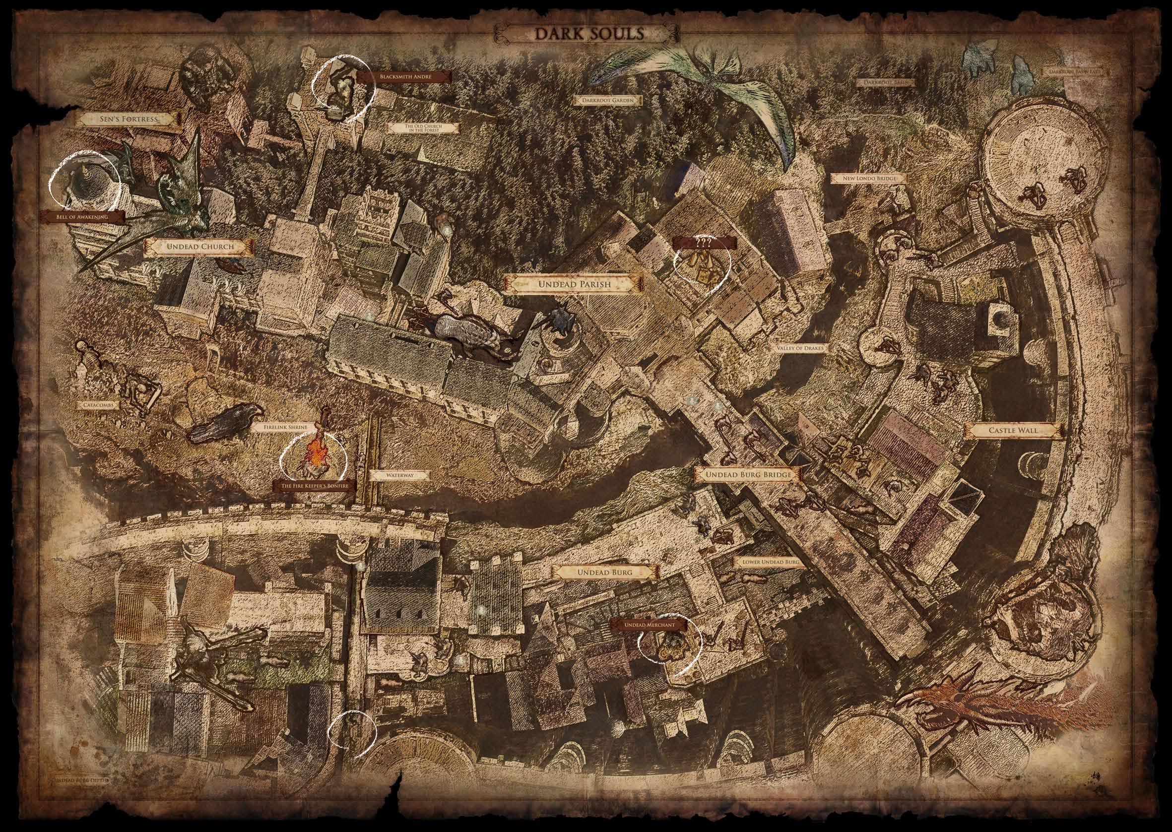 Dark Souls Map Wallpapers - Top Free Dark Souls Map ...