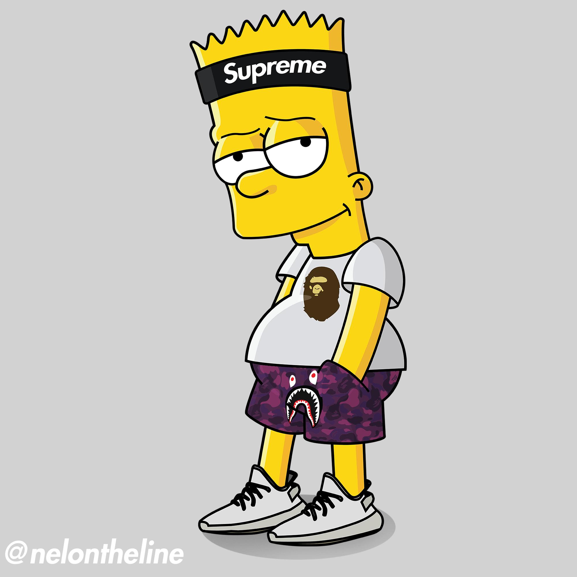 Bart Simpson Hypebeast Wallpapers Top Free Bart Simpson