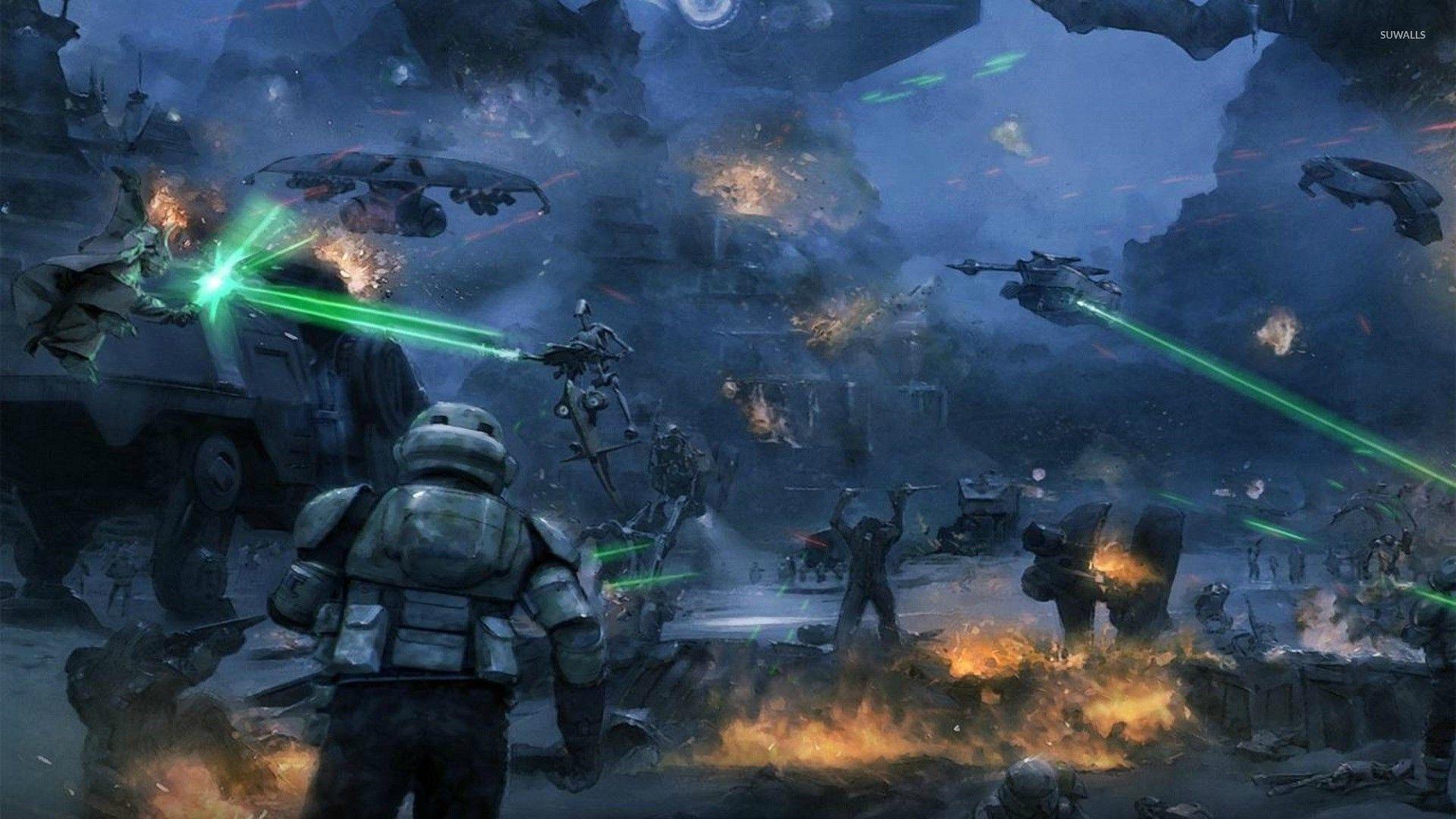 Star Wars Battle Wallpapers Top Free Star Wars Battle