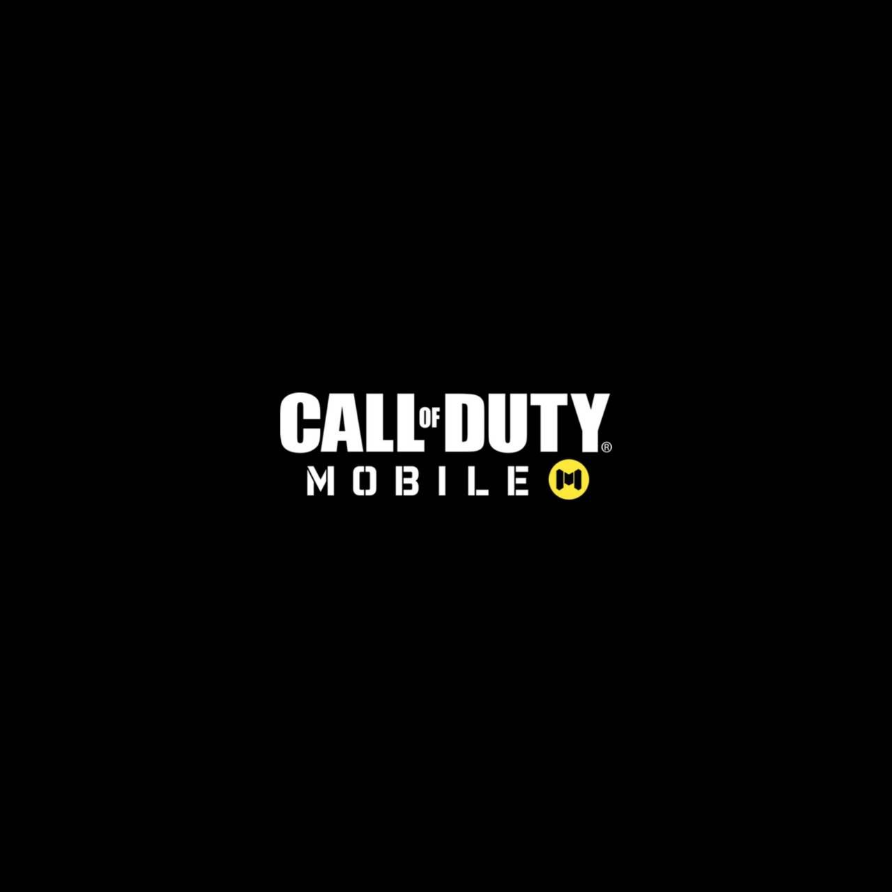 call of duty mobile logo white