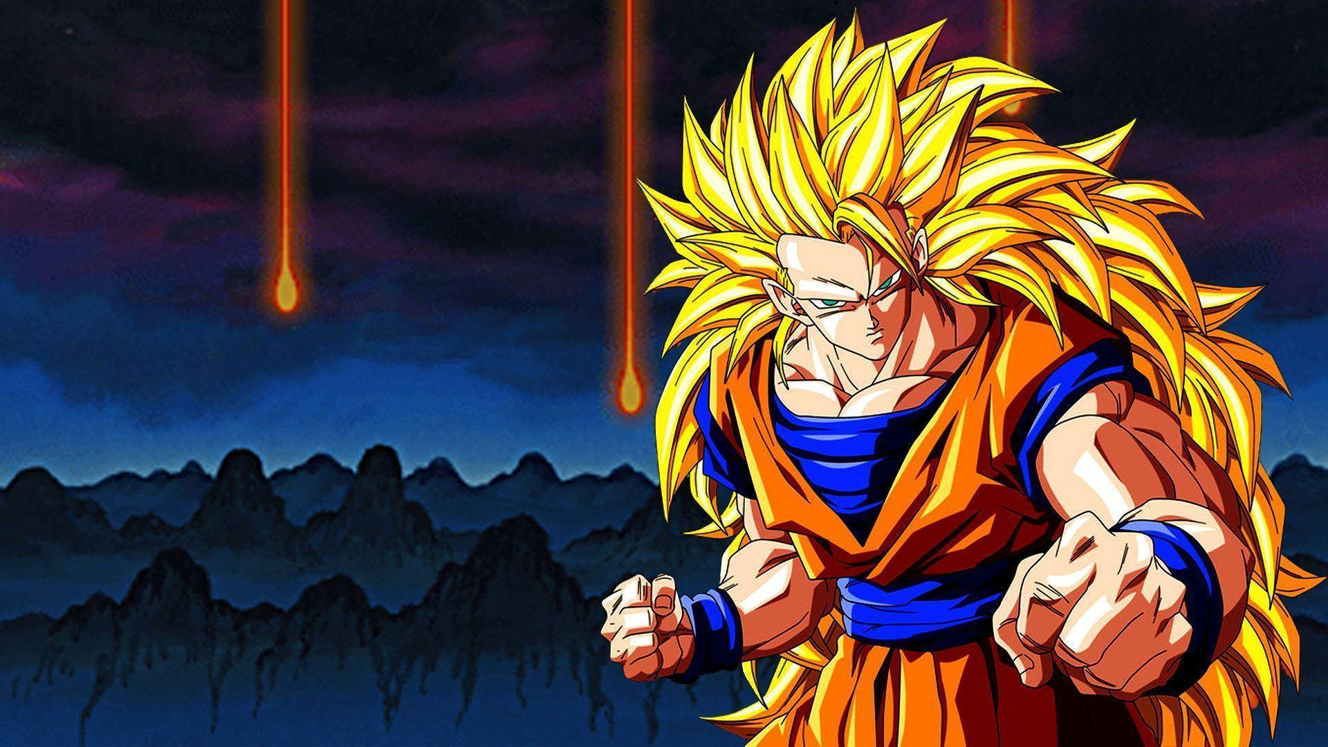 Dragon Ball Z Goku Wallpapers Top Free Dragon Ball Z Goku Backgrounds Wallpaperaccess